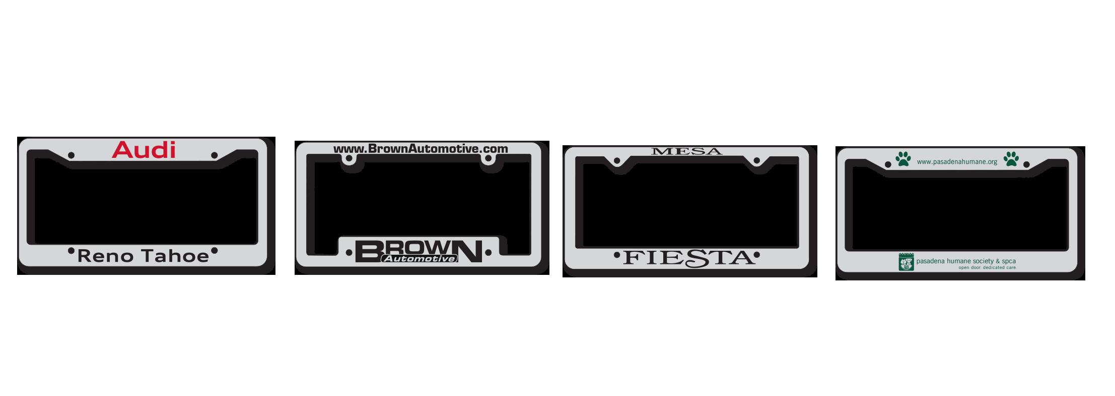 Chrome Plated Plastic Color Fill License Plate Frames (CCF)  sc 1 st  MSL Line INC. & Chrome Plated Plastic Color Fill License Plate Frames (CCF) | MSL ...